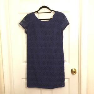 LOFT Blue shift dress